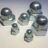 La norme DIN 1587 Bouchon hexagonal de l'écrou en acier inoxydable pour les fixations