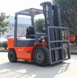 Dieselgabelstapler-dreistufiger Mast der Behälter-Arbeits-3000kg und Seiten-Schieber