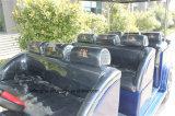 6 Seaterの標準的なゴルフカートの電気手段の乗用車