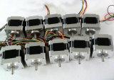 NEMA16 1.8degree 2 fase Hybride het Stappen Motor met Goedkope Prijs