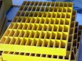 Plástico reforzado con fibra la fibra de vidrio PRFV rejilla de plástico reforzado con fibra