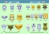 Gold Metal Push Button LOCK Bag Press LOCK for Handbags
