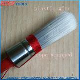 Runde Pinsel mit Seil-hölzernen Griff-Reinigungs-Lack-Pinseln