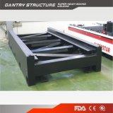 Glorystar Faser-Laser-Ausschnitt-Maschine für das Metall, das mit Cer, ISO, BV, Fdv aufbereitet