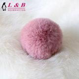 Bille d'imitation colorée populaire en gros du poil d'animal POM POM pour des accessoires de vêtement