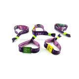 Kundenspezifisches FirmenzeichenNFC RFID Gewebe gesponnener Wristband für Ereignis