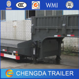 Semi Aanhangwagen van Lowbed van de Lading van Lowboy van de tri-as de Lage met As Fuwa