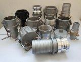 Parti di alluminio/inossidabili/tipo B di /Coupling/Valve dell'accoppiamento del Camlock di Steel/PP/Brass