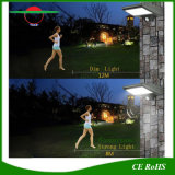 壁に取り付けられた庭ランプの街灯LED Lamparaの太陽外面