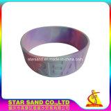 Spätestes Silikonspezielles kundenspezifisches buntes Wristbands-Silikon-Gummi-Armband