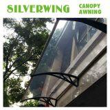 Abrigo curvado plástico de la puerta del policarbonato para el pabellón de Sun de la ventana (YY-C)