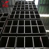 Quadratisches Gefäß-Quadrat-Rohr-quadratisches Stahlrohr des Eisen-Rohr-75X75