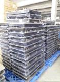600mm Edelstahl-Schwarz-Farbanstrich-Karosserie mit 600mm dem ausgeglichenen Glas