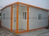 Chambre facile de Prebuilt d'installation de coût bas avec la structure métallique légère