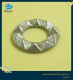 O logotipo personalizado do inlay Diamante redondo de latão ilhós para veste calças