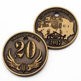 Commercianti di moneta rari di vendita caldi del vecchio oro della novità del metallo dell'oggetto d'antiquariato su ordinazione poco costoso del ricordo