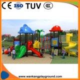 Новая конструкция пластмассовые игрушки для детей игровая площадка для установки вне помещений (WK-A1205)