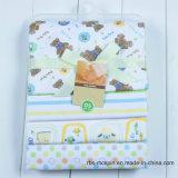 Le bébé 100% de Fannel de coton recevant la couverture de sommeil de couverture Swaddle la couverture
