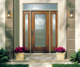 Двери твердой древесины свойств контроля климата селитебные внешние