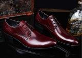 Классная мужская одежда из натуральной кожи черного цвета бизнес обувь