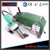Máquina de soldadura portátil do ar quente da bandeira do cabo flexível do PVC