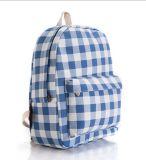 Estilo de Impressão Floral Design quadrado mochila Backpack College Saco de lazer do vento