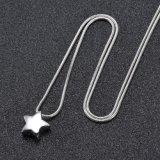 Мода звезды из нержавеющей стали формы украшений Silver кремации Urn пульта управления
