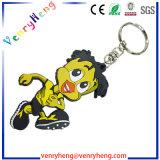 PVC feito sob encomenda Keychain de borracha dos desenhos animados para o presente da promoção