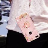 Contraportada protectora transparente del silicio TPU para el iPhone 6 6s 6plus 6splus 7 7plus