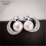 Monili d'acqua dolce della vite prigioniera della perla della stella di Sliver925 Moon& (Lovejoyas)