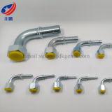 Tubo di gomma idraulico adatto 27891 che misura i montaggi di tubo flessibile femminili di SAE J513 della sede del cono di SAE di 90 gradi