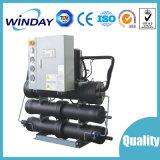 Refrigerador refrigerado por agua del tornillo para el estirador (WD-500WC)