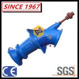 Pompa di elica chimica verticale del gomito di flusso assiale dell'acqua dell'acciaio inossidabile