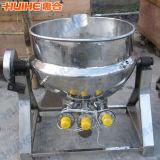 arroz do aço 500L inoxidável que cozinha a chaleira