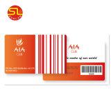 Smart Card del PVC RFID di stampa di formato standard con ampiamente uso