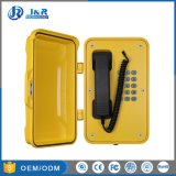 Resistente a la humedad túnel teléfono VoIP, Antivandálica Industrial estanco Teléfono