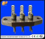 Dreiwegeklemmenleiste-Edelstahlpin-Verbinder für Wechselstrom-Auto