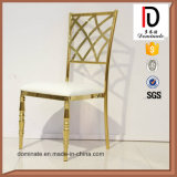 Профессиональный стул золота нержавеющей стали конструкции