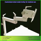 Carrello medico personalizzato della lamiera sottile del Governo per la strumentazione dell'ospedale