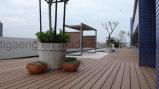 Aménagement décoratif imperméable à l'eau de jardin de la bonne qualité WPC