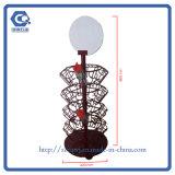 Gegenoberseite-Metalldrehende Süßigkeit-Flaschen-Einzelverkaufs-Bildschirmanzeige-Zahnstange