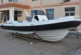 Yacht de touristes de bateau de passager de bateau de côte de Liya 7.5meter Chine