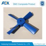 Le SMC moule P20 Core pour l'huile du ventilateur électrique Paiting bleu sur la machine