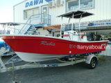 Barco de pesca da fibra de vidro do barco do Panga de Liya 5.8m para a venda da pesca