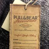 O Tag personalizado do cair da qualidade superior para a roupa calç o saco