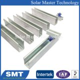 La estructura de acero galvanizado soporte de montaje para fijación de la energía solar