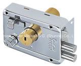 Aro de segurança de porta com fechadura cilindro duplo e teclas do computador