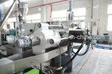 extrusionadora de husillo doble de plástico para lavarse el LDPE película después de estrujar