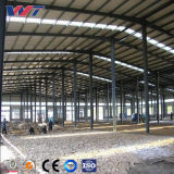 Amplia gama edificio de acero Taller de bastidor de la estructura de acero de almacén