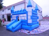 Aufblasbarer Überbrückungsdraht spielt Prahler-aufblasbares federnd Schloss (T2-216)